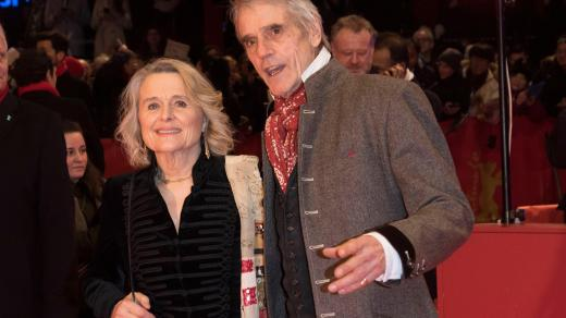 Berlinale 2020, Jeremy Irons a Sinead Cusack