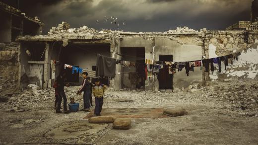 Válka v Sýrii - humanitární krize