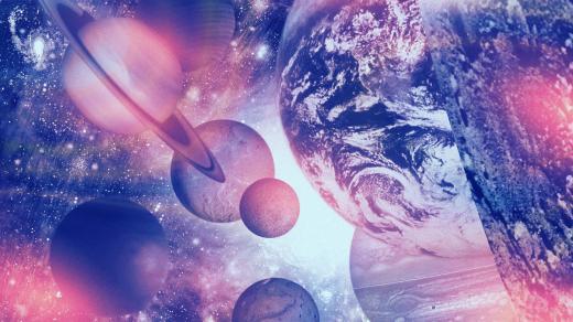 Výlet do kosmu s Planetami Gustava Holsta