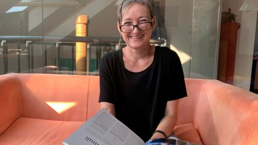 Jazyková poradkyně Dagmar Magincová