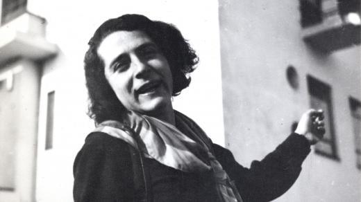Irena Blühová na Bauhausu, Dessau