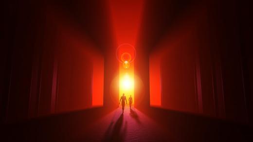 umírání, tunel
