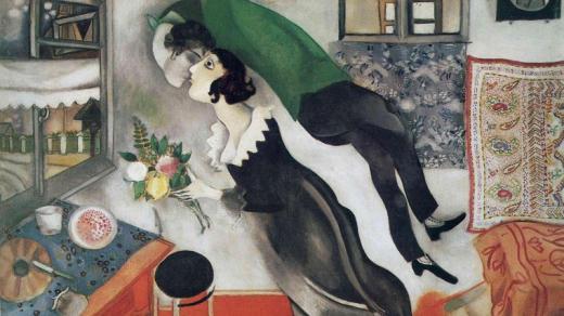 Marc Chagall: Narozeniny 1915