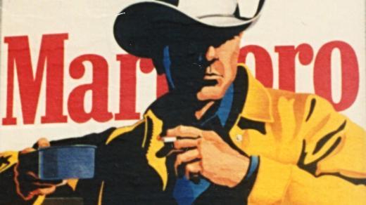Marlboro Man. Typická reklama značky Malboro