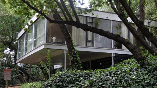 Dům Donalda a Helen Olsen, Berkeley, USA, 1958