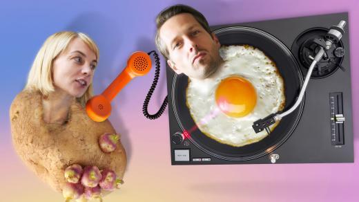 Brambora s vejcem